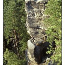 Vyhlídka z Besedických skal