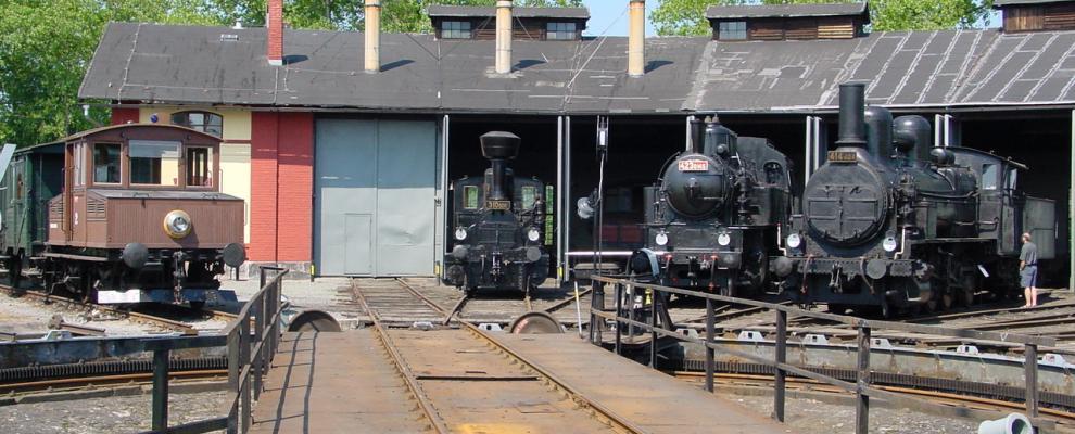 Železniční muzeum Výtopna Jaroměř, odkaz se otevře v novém okně