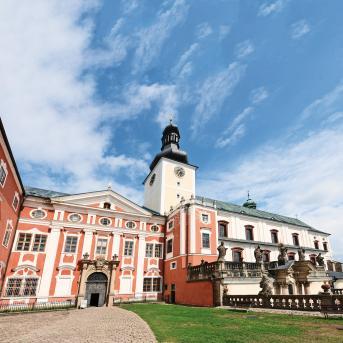 Benediktinský klášter Broumov, autor: Jaroslav Kocourek