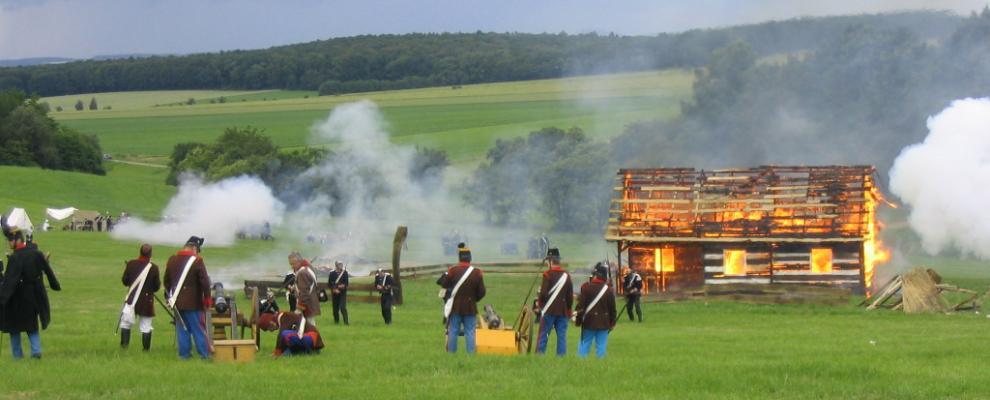 150. výročí bitvy na Chlumu