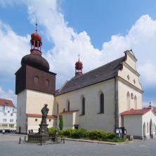 Kostel sv. Vavřince, Náchod, autor: archiv KHK (CPP II)
