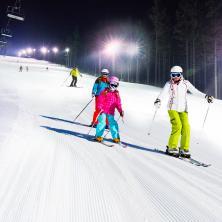 SkiResort ČERNÁ HORA - PEC: večerní lyžování PROTĚŽ, autor: archiv SkiResortu ČERNÁ HORA – PEC
