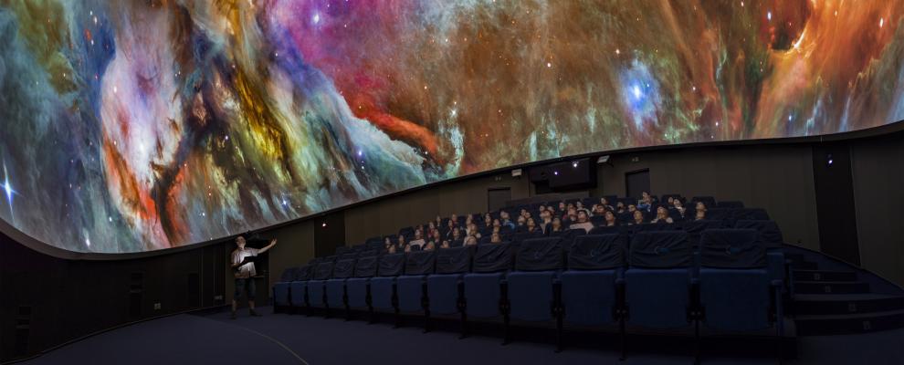Digitalplanetarium Hradec Králové