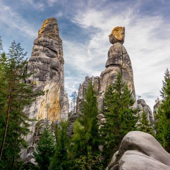Adršpašské skalní město, autor: Gerald Blondy