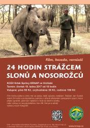 24 hodin strážcem slonů a nosorožců, author: archiv Správy KRNAP
