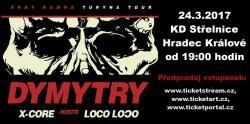 DYMYTRY - Krby kamna Turyna tour 2017, autor: FAR Produkční umělecká agentura - KD Střelnice