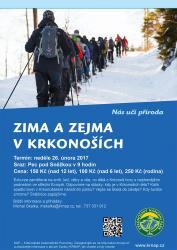 Zima a zejma v Krkonoších, Autor: archiv Správy KRNAP