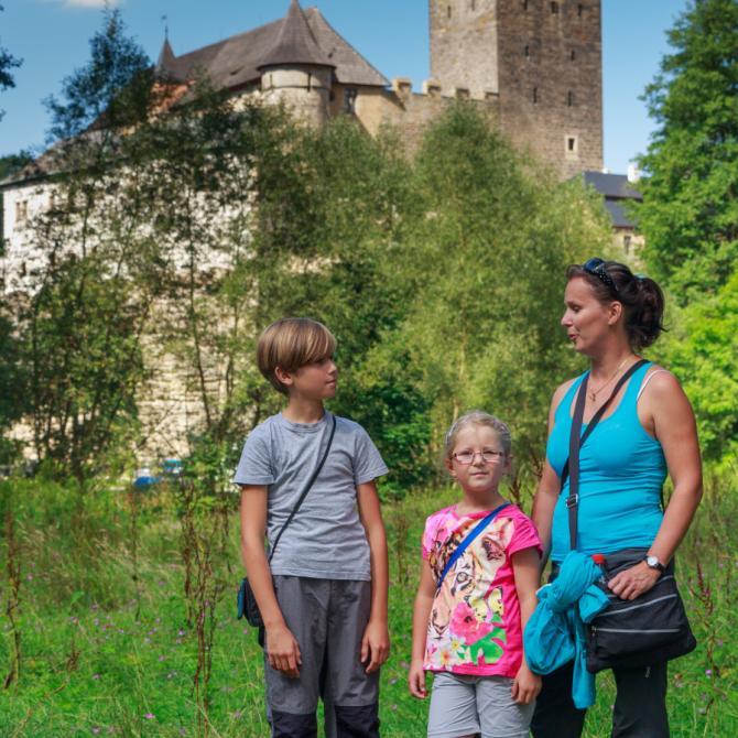 hrad Kost, autor: Luděk Antoš