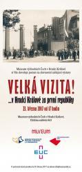 Velká vizita!... v Hradci Králové za první republiky, autor: archiv Muzea východních Čech v Hradci Králové