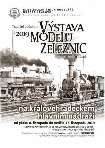 Tradiční podzimní výstava modelů železnic 2019