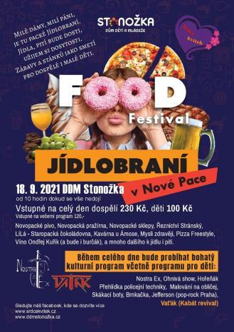 Food festival Jídlobraní v Nové Pace